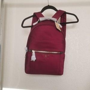 Purple fabric Michael Kors Backpack